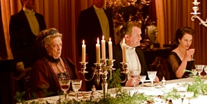 Dinner at Downton Abbey. Photo from flavorwire.com